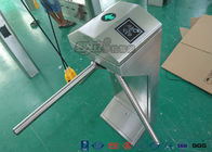 2016 Semi - Automatic Vertical Tripod Turnstile Gate / Turnstile Security Gates / Security Arm Barrier Tripod
