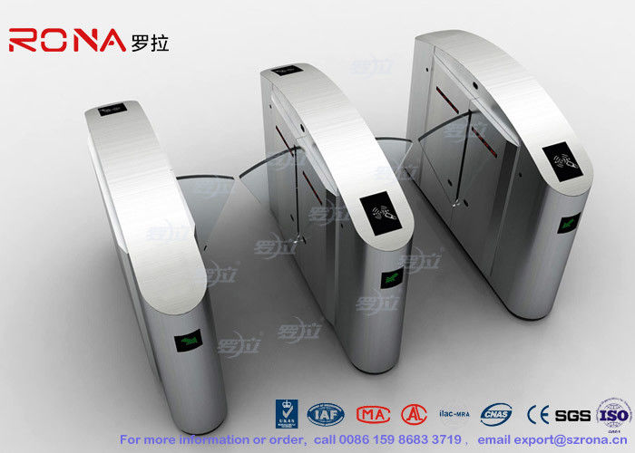 Flap Barrier Gate Half High Turnstile Security Systems Swing Gate Flap Barrier