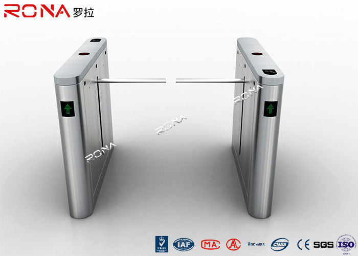 Access Control Drop Arm Barrier Gate QR Code Barcode Scanner IP54 Protection Level