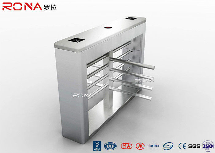 Electrical Half Height Turnstiles Gate Access Control Entrance For Prison