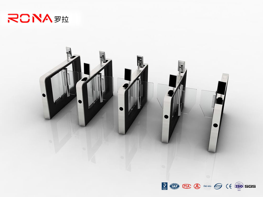 High Speed Facial Recognition Turnstile Speed Gate Access Control For Office Building
